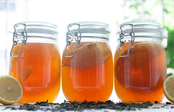 How to Make a Scoby With Vinegar